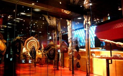 Tur dari Museum Branly di Paris