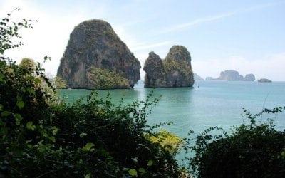 شاطئ رايلى في تايلاند