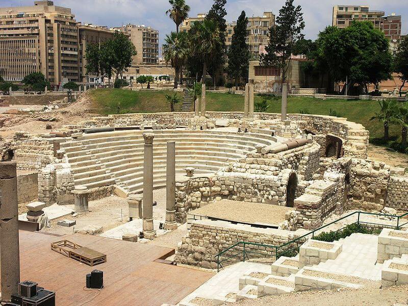 جولة فى مسرح و متحف الاسكندرية