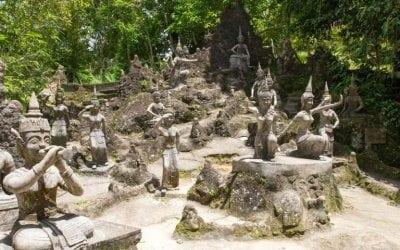 حديقة بوذا السرية
