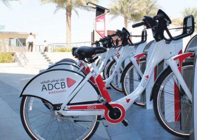 الدراجات الهوائية المشتركة