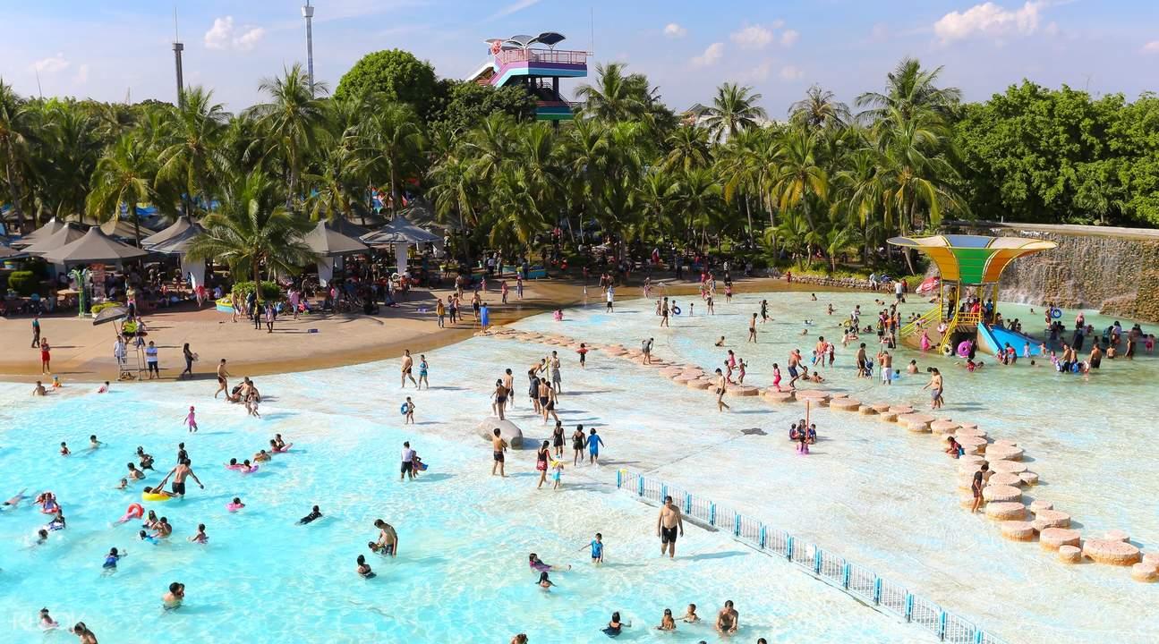الانشطة الترفيهية فى الحديقة المائية سيام بارك تايلاند |  سيام بارك تايلاند