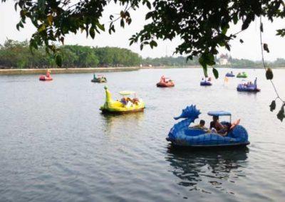 Тур в озере Сето Бабаджан