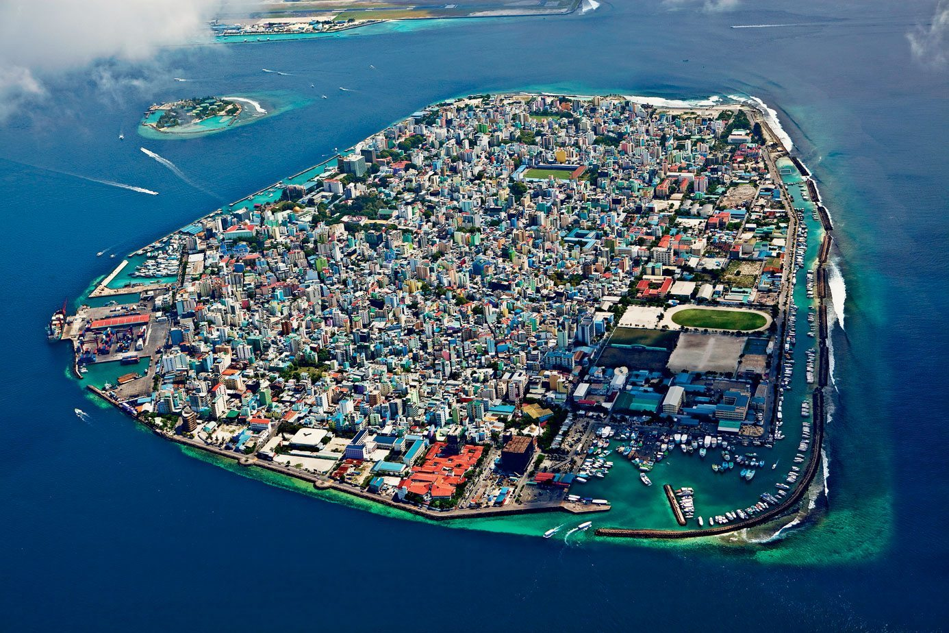 ماليه عاصمة جزر المالديف