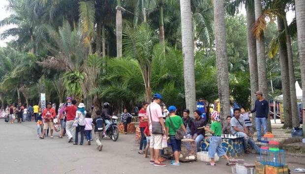 حديقة ماتاهارى فى بونشاك اندونيسيا