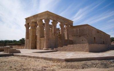 معبد هيبس في الوادي الجديد