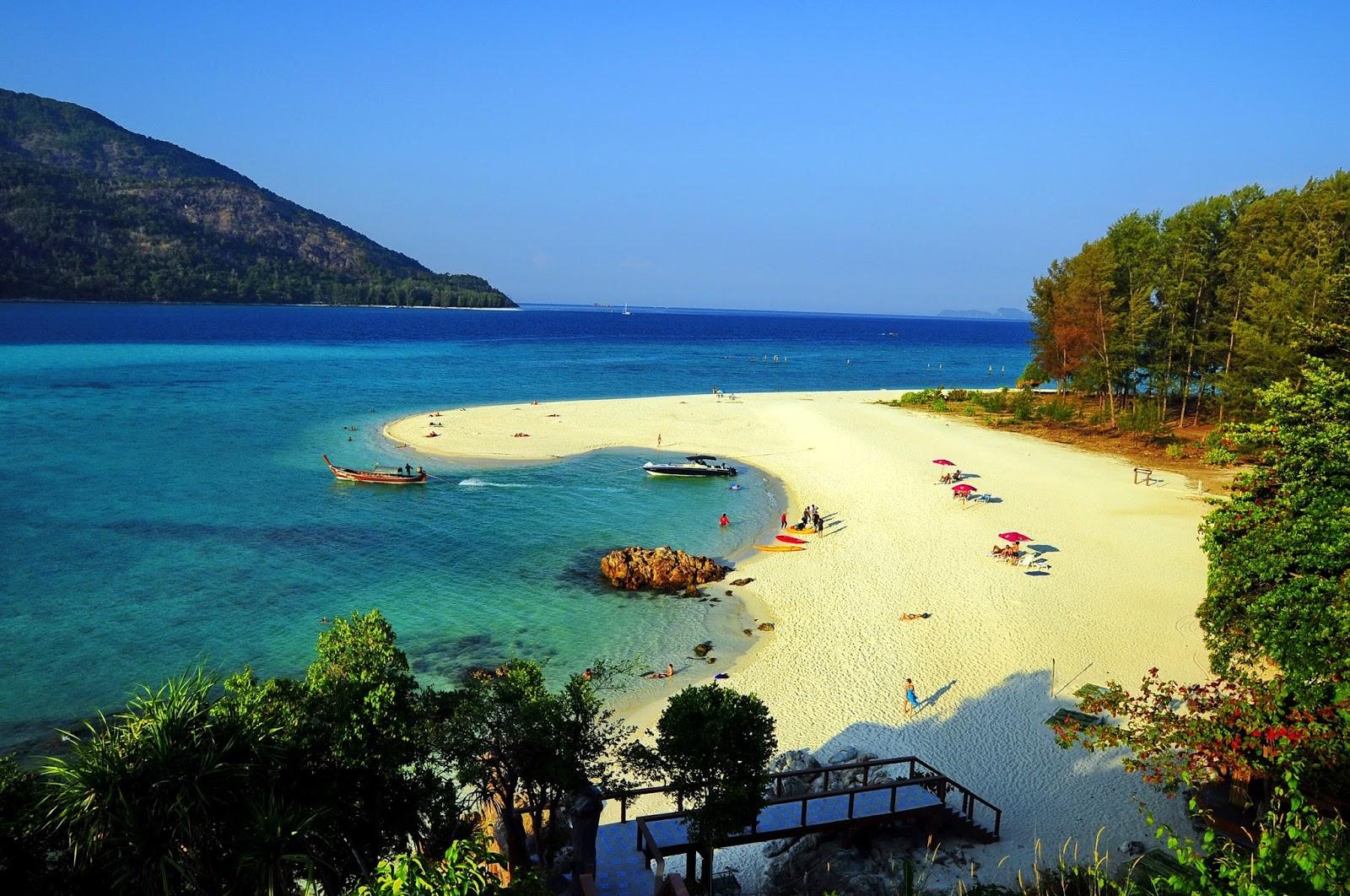 أجمل وأروع الشواطئ على جزيرة في في تايلاند | اروع شواطئ جزيرة فى فى