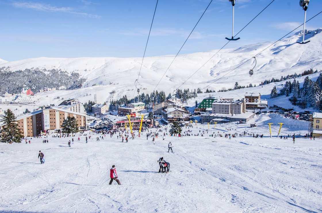 اهم الانشطة السياحية فى جبل اولوداغ بورصة تركيا | جبل اولوداغ فى بورصة
