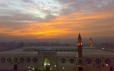 مسجد عمرو بن العاص في القاهرة