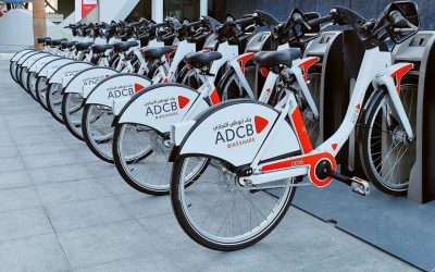 Shared bikes in Abu Dhabi