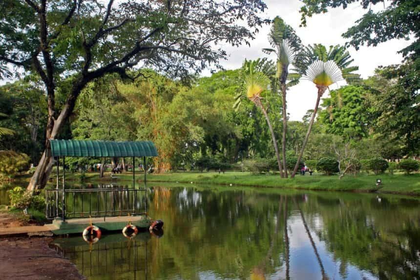 حديقة فيهاراماهاديفي سيريلانكا