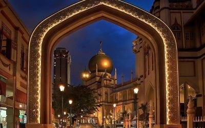 جامع السلطان فى كامبونج جلام