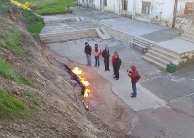 الانشطة السياحية فى جبل النار فى باكو فى ولايه اذريبجان الرائعه والمتميزه