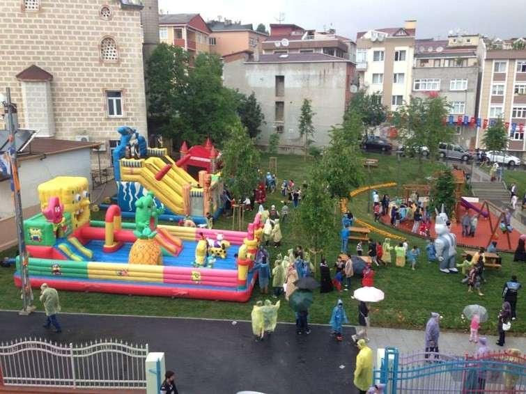 أنشطة في حديقة الشباب في انقرة تركيا