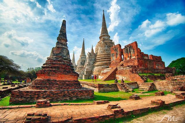 السياحه فى مدينة أيوثايا الاثريه فى تايلاند | مدينة ايوثايا فى ولايه  تايلاند