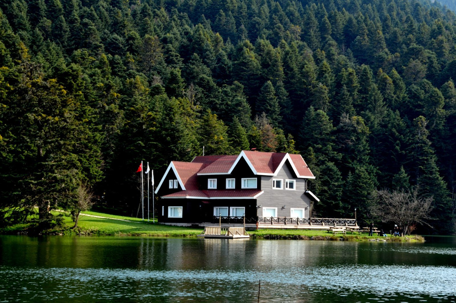 أنشطة في بحيرة سبانجا تركيا