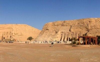 جولة سياحية فى معبد ابو سمبل أسوان