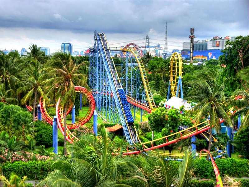 حديقة انكول دريم لاند اندونيسيا