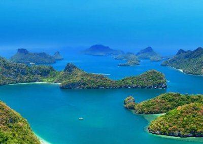 المنتزه البحرى مو كو أنغ ثونغ