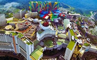 اشهر مدن ملاهى فى ماليزيا