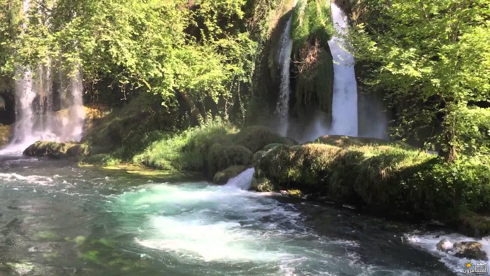 مانافجات ملكة جمال الشلالات في تركيا