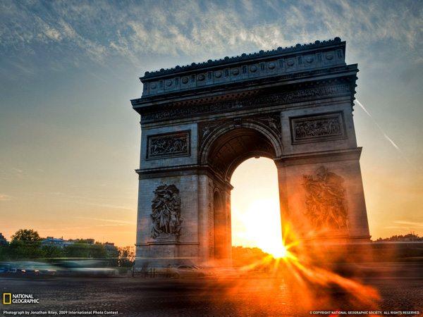 아크 드 Triomphe 파리