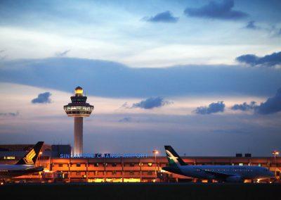 """مطار """"  شانجي """""""