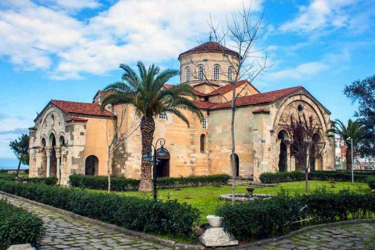 أنشطة في متحف آيا صوفيا طرابزون تركيا