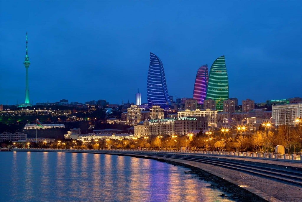 Baku, the capital of Azerbaijan