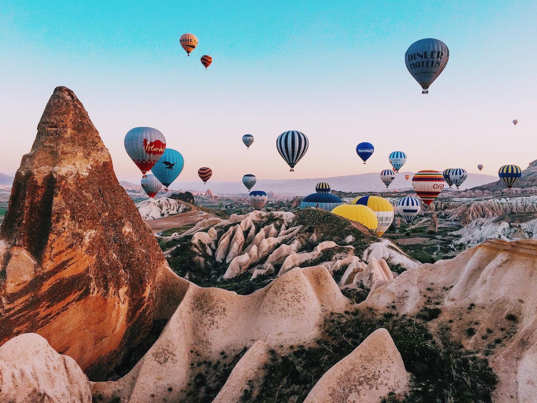 9 وجهات سياحية جديده لركوب المنطاد فى تركيا 2019 | اكتشف تركيا