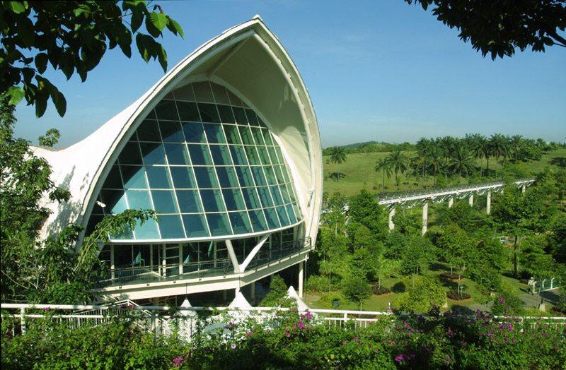 پوترایا ملائیشیا میں گارڈن کے پودوں
