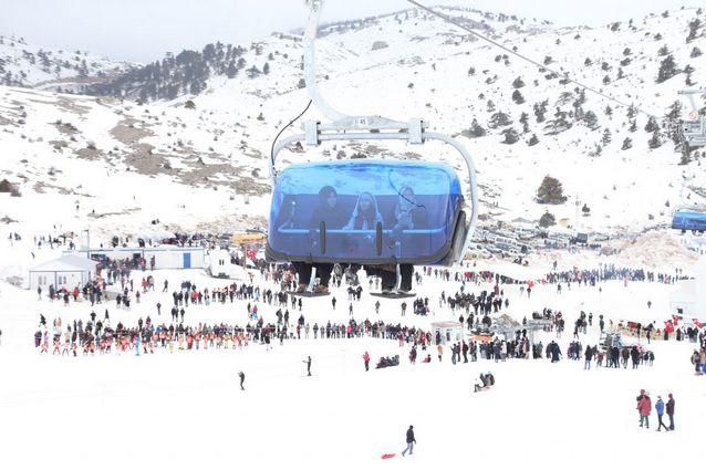 أنشطة في جبل التزلج بوزداغ كاياك ازمير تركيا