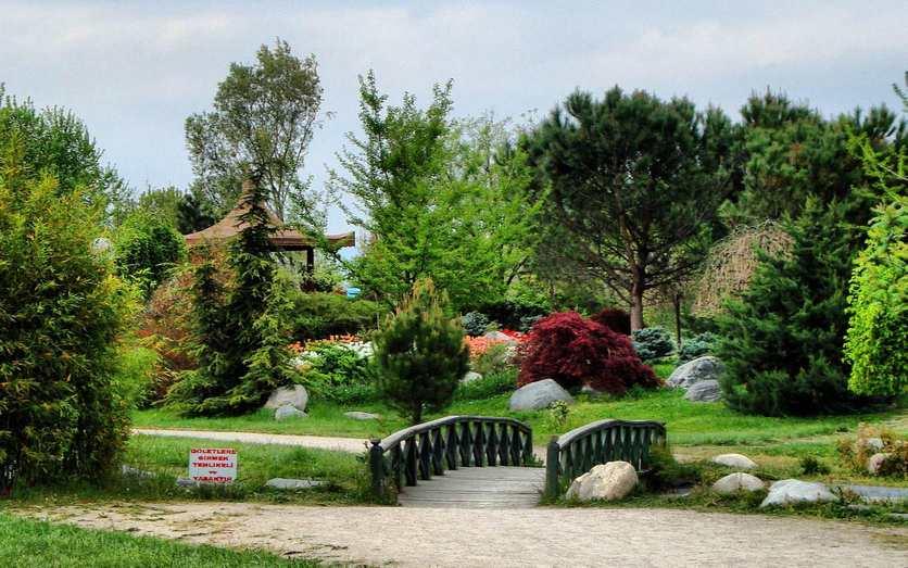 أنشطة عند زيارة حديقة جاذبة في بورصة تركيا