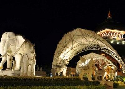 حديقة السفاري الليلية