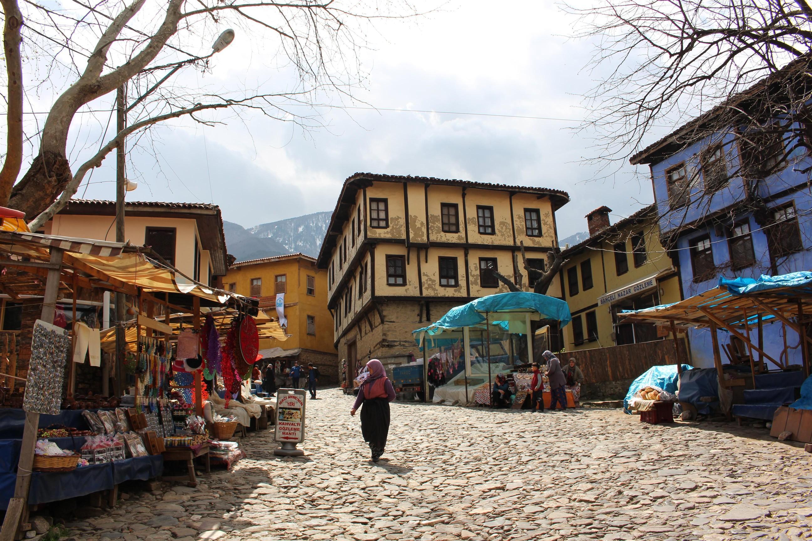 انشطة في القرية العثمانية بورصة تركيا