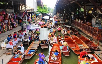 تور به بازار شناور، سامفان و باغ رز