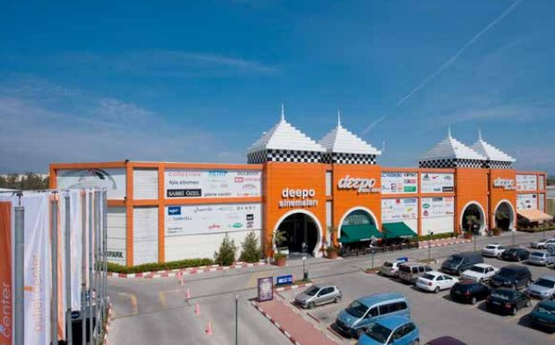 مركز تسوق ديبو مول انطاليا تركيا