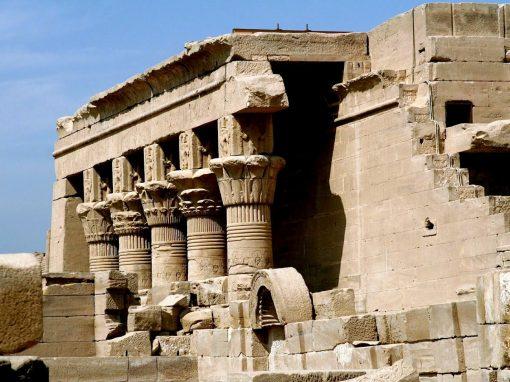 معبد دندرة في الاقصر