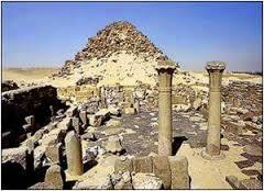 معابد الشمس فى ابوصير مصر