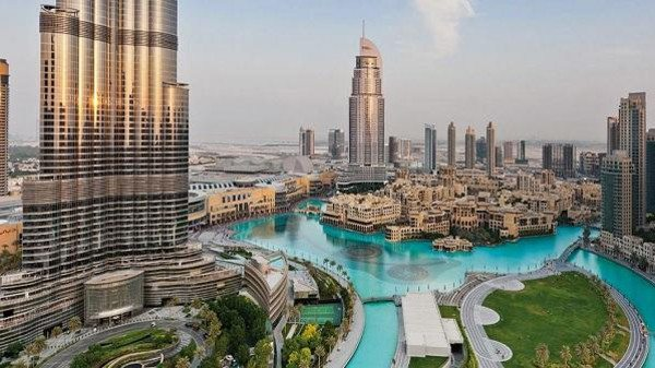 أنشطة حديقة برج خليفة في دبي الامارات
