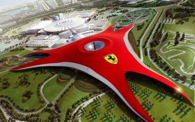 Tourism World of Abu Dhabi Ferrari