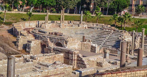 المسرح الروماني مصر