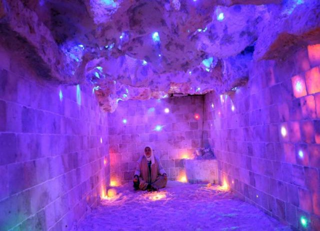 The salt cave in Marsa Matruh