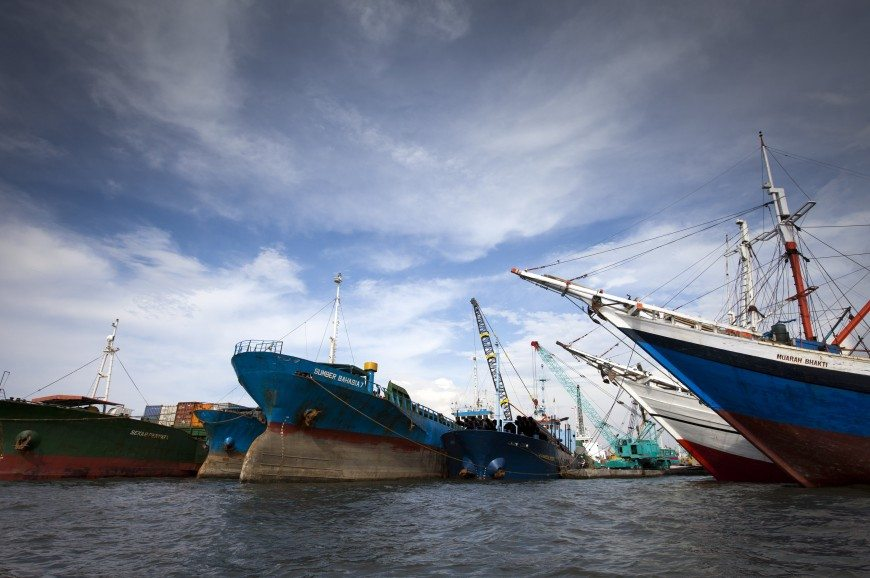 ميناء سوندا كلابا جاكرتا اندونيسيا