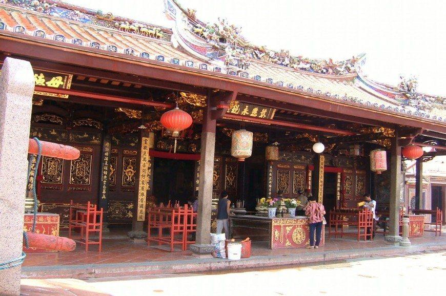 معبد تشنغ هون تينغ ملاكا ماليزيا