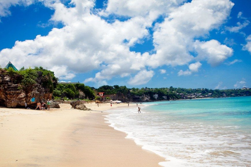 شاطئ دريم لاند بالي اندونيسيا