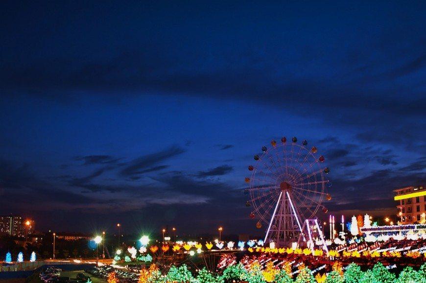 مدينة الاضواء  آي ستي شاه علم في ماليزيا