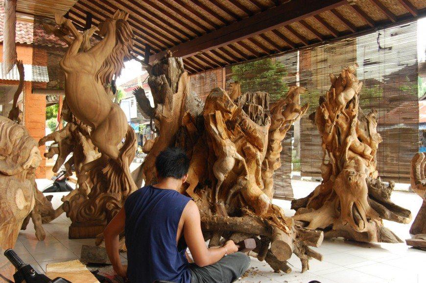 قرية ماس بالي اندونيسيا