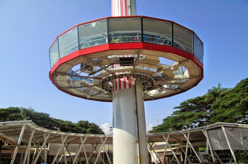 منارة تامنج ساري في ولاية ملاكا بماليزيا