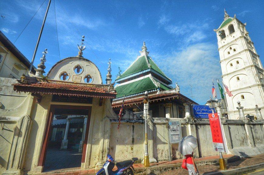 مسجد كامبونج كيلنغ ملاكا ماليزيا